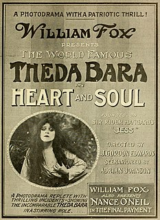 <i>Heart and Soul</i> (1917 film) 1917 film