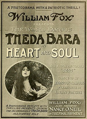 Heart and Soul (1917 film) - Heart and Soul, also being shown with Youth's Endearing Charm.