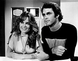 Heather Menzies en Gregory Harrison in Logan's Run.