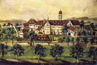 Heggbach Abbey - Heggbach Abbey in the 18th century