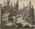 Heinrich August Grosch - Foss, Sorknes i Østerdalen - NG.K&H.B.06491 - National Museum of Art, Architecture and Design.jpg