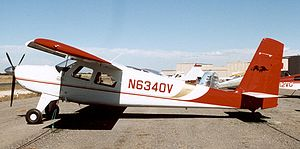 Helio Courier - Helio H295 Super Courier of 1967 at Valle, Arizona, in October 2005