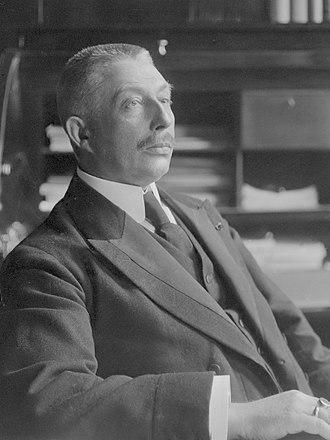 Hendrikus Colijn - Hendrikus Colijn, 1913