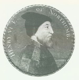 Henry Percy, 6th Earl of Northumberland - Medallion of Henry Percy