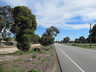 Hepburn Avenue road in Perth, Western Australia