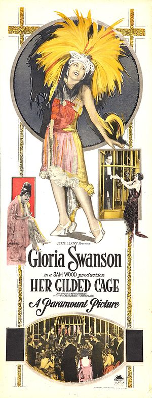 Her Gilded Cage - Film poster