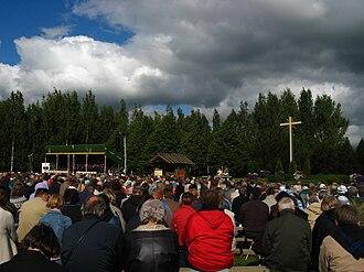 Awakening (Finnish religious movement) - Herättäjäjuhlat awakening festival in Seinäjoki, 2009