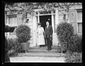 Herbert Hoover at Girl Scouts Little House, Washington, D.C. LCCN2016892574.jpg