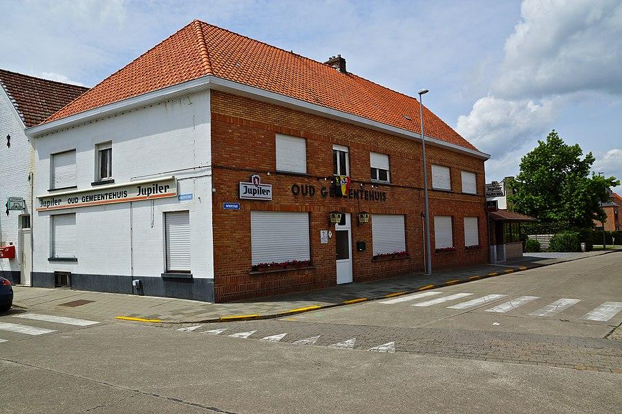 Oostkamp (Hertsberge),  Belgium: Former Town Hall