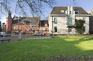 Coevorden - Castle and city hall of Coevorden in 2007