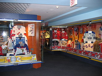 "Hockey Hall of Fame - The ""World of Hockey Zone"", which opened in 1998, is dedicated to international ice hockey."