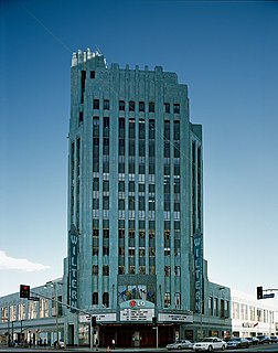 Pellissier Building and Wiltern Theatre skyscraper and movie theater in Los Angeles, California, United States