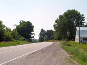 Ontario Highway 12 - Highway 12 southeast of Orillia