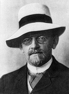 David Hilbert German mathematician