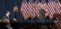 Hillary walking on stage to deliver her concession speech 05.png