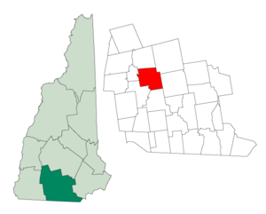 Francestown, New Hampshire - Image: Hillsborough Francestown NH