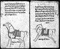 Hindi Manuscript 191, fols. 11 verso, 12 rec Wellcome L0024204.jpg