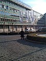 Hinter dem Hauptbahnhof, Blick aus dem Hotel - panoramio.jpg