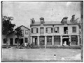 Historic American Buildings Survey, WEST ELEVATION. - Beard-Conan Store, Pompey, Onondaga County, NY HABS NY,34-POMP,3-5.tif