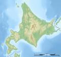 Hokkaidō géolocalisation relief 000.png