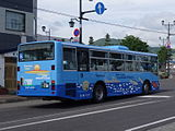 Hokumon bus Ki230A 0103rear.JPG