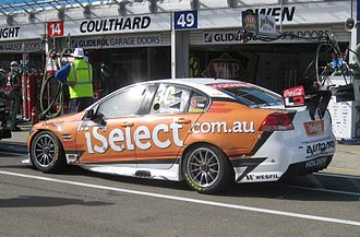 Taz Douglas - Douglas placed 26th in the 2012 V8 Supercars Championship driving a  Holden VE Commodore