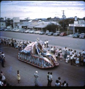 Home Hill, Queensland - 1963 Home Hill Harvest Festival.