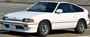 Honda CR-X - 1987 Honda Ballade Sports CR-X 1.5i (Japan)