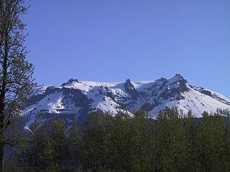 Hoodoo Mountain - Southern flank in 2004