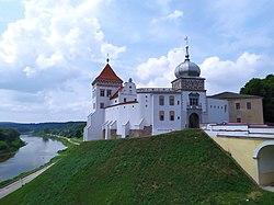 Horadnia (Hrodna), Stary zamak. Горадня, Стары замак (2021) 03.jpg