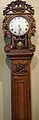 Horloge saint-nicolas signée Allix en poirier - Inv. 2011.16.1.JPG