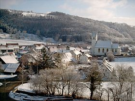 Hornusse im Winter