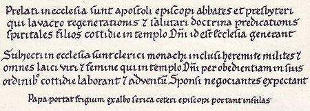 """Abbildung mit Textauszug aus """"Hortus Deliciarum"""", siehe folgende Tabelle"""