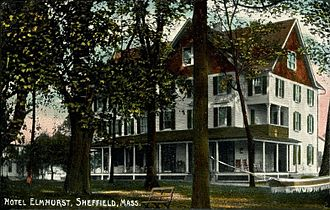 Sheffield, Massachusetts - Hotel Elmhurst in 1909