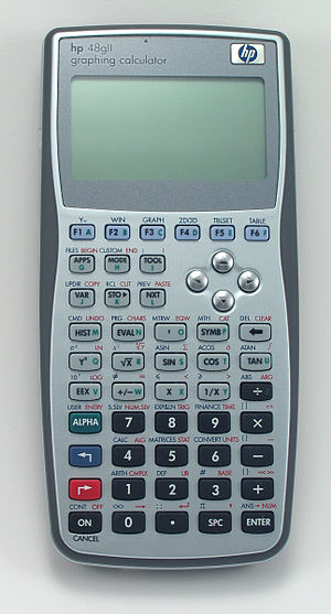 HP 49/50 series - hp 48gII graphing calculator