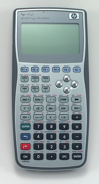 Comparison of HP graphing calculators - Image: Hp 48gii