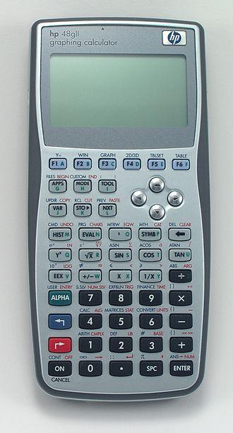 HP 49/50 series - hp 48gII graphing calculator