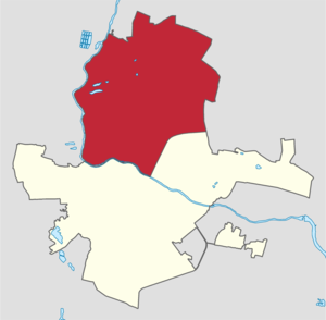 Hrodna (Belarus) Leninsky district.png