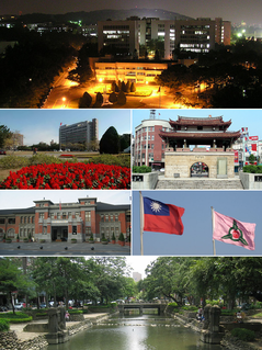 Hsinchu City in Northern Taiwan, Republic of China