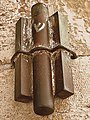 Huge Mezuzah in Jaffa Gate- Jerusalem (6770207885).jpg