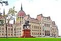 Hungary-02703 - Parliament and Francis II Rákóczi (32462525812).jpg