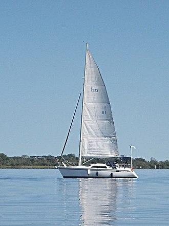 Hunter 32 Vision - Image: Hunter 32 sailboat 3980