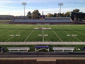 Pittsburg High School (Kansas) - Image: Hutchinson Field 06