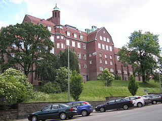 Hvitfeldtska gymnasiet High school in Gothenburg, Sweden