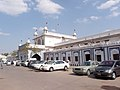 Hyderabad railway station outside.JPG