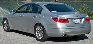 Hyundai Genesis - Pre-facelift Hyundai Genesis 3.8 (United States)