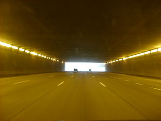 Interstate 696 - Image: I 696 tunnel