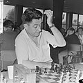 IBM schaaktoernooi, dr. P. Trifunovic uit Joegoslavie, Bestanddeelnr 917-9835.jpg