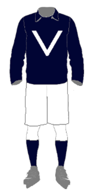 1909 Inter-State Series - Image: IHA Uniform Victoria 1909