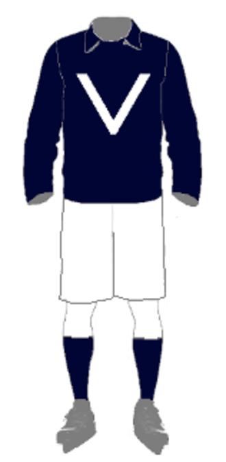 1909 Inter-State Series - Image: IHA Uniform Victoria 1909